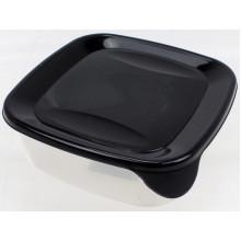 Контейнер для харчових продуктів Фаворит 0,9 л квадратний (60) БП-049