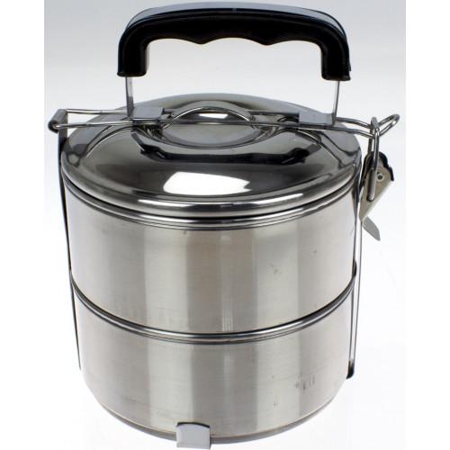 Набір контейнерів металевих для харчових продуктів (2 шт) 750 мл (48) №R30246