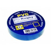 Ізоляційна стрічка Rugby 20м синя (10) (400)