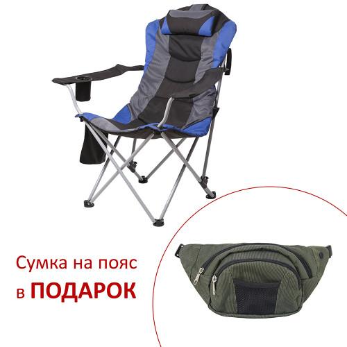 Кресло Директор d19 мм (синий)